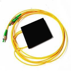 Faible perte d'insertion à fibre optique doubleur de gamme sur Internet