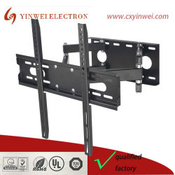 """Supports TV pour la plupart des 26-55 pouces TV Full Motion Montage Mural articulé à deux bras de pivot d'inclinaison Support. Jusqu'à VESA 400X400 (16""""X16"""") 121 lbs capacité."""