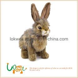 Muñeco de peluche de conejo de peluche de dibujos animados de liebre Fabricación personalizada