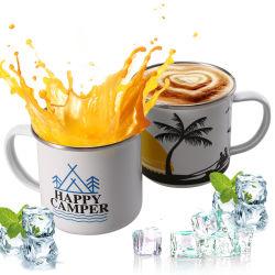 Сублимация кофе подарок кемпинг эмаль кружки для Kitchenwrare и рекламной продукции