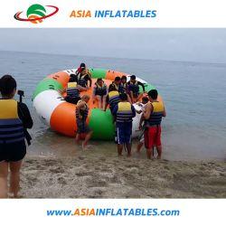 Novo Barco Discoteca insufláveis Água Quente Toy, Qualidade comercial furacão barco inflável