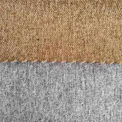 Tejido de poliéster Algodón la tapicería de terciopelo Textil