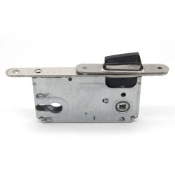 Скрытый магнитный замок боковой сдвижной пластиковый магнитный ключ блокировки корпус замка