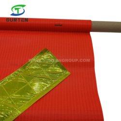 Le trafic en plastique de la rue/route Avertissement de sécurité anti-UV/PVC imperméable/polyester/nylon/réfléchissante d'impression couleur fluorescente ligne carrée/triangle