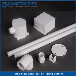 Conductos eléctricos de tubo de PVC Conduit UPVC Adaptador de tubería DN16-DN63mm
