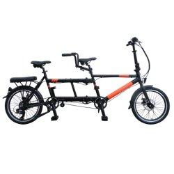 20-дюймовый электрическим тандем складной электрический велосипед 250W заднего двигателя