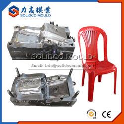 Una buena calidad de plástico Armless fabricante de moldes de silla silla hogar plástico molde