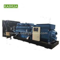 3000kVA/2400kw Mtu 엔진 10.5kv 고전압 전기 디젤 엔진 발전기