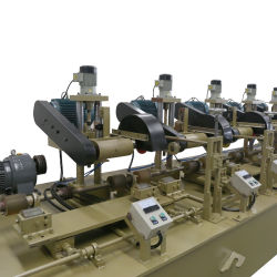 Yj-10 Wheel Head Big Tube Vertical Auto-Press Pipe Polishing Machine For Round Pipe