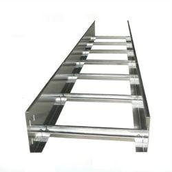 Peso ligero de aleación de aluminio bandejas de cables de la escalera puente de cables