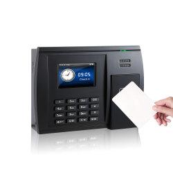 (Modelo S550) la asistencia tarjeta perforadora de tarjetas de proximidad del tiempo de máquina Sistema de asistencia con WiFi o GPRS funcionan