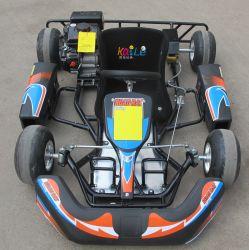 小型安全バンパーの電気スタートカート子供のレーシングゴーカート 子供 90cc のため