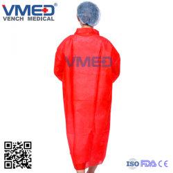 Non-Woven blouse de laboratoire de protection jetables Workwear Blouse de laboratoire