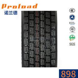 Het nieuwe Chinese Type ISO van Oorsprong van het Ontwerp van de Kleur 12r22.5 315/80r22.5 van de Band 11r22.5 van de Vrachtwagen TBR Zwarte