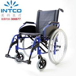 Accoudoirs en aluminium manuels pour fauteuil roulant, roues arrière amovibles interchangeables de 12 et 24 pouces