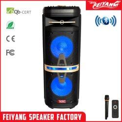 Novo! Molde privado DJ na área externa recarregável Bluetooth Alto-falante de áudio Amplfier Superior - Duplo de 10