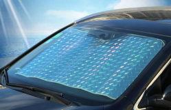 Дешевые переднего ветрового Sun Shade PE покрытием алюминиевой пленкой солнечные зонты складные Car солнечные зонты для поощрения