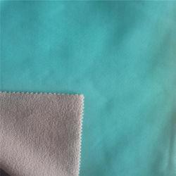 TPU 폴리에스테 탄력 있는 보세품 극지 양털 Softshell 직물