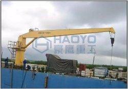 Grue hydraulique de fret maritime navire Crane Grue de flexible