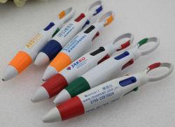Ассорти из четырех цветов карабин шариковым пером