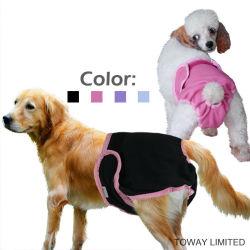 Il cane femminile ansima vestiti del cane dei prodotti dell'animale domestico i grandi