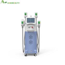 Lipolysis van Cryo van de Vermindering van Cellulite VacuümInstrument 4 van het Verlies van het Gewicht Vet Brandend Prijs van de Machine Criolipolise van Handvatten de Vette Bevriezende