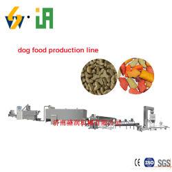 Granulés de Pet de décisions de traitement des animaux de la machine de l'extrudeuse Chien Aliments secs La ligne de production de machines de transformation des aliments pour animaux de compagnie chien de la ligne