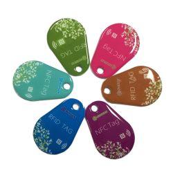충절 시스템 RFID 수정같은 꼬리표 RF11FM08 FM08 NFC 에폭시 중요한 바지의 시계 주머니 꼬리표