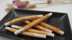 Stick queijo em torno de carne Sabor Galinha Dog Snacks Pet Food