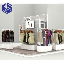 Form-hölzerner Kleidungs-Ausstellungsstand für Kleidung-Kiosk