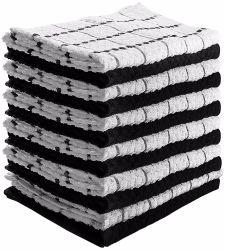 100% algodão tingidos Toalha papel toalha pano de prato para promoção Pano Duster