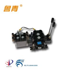 Le tiroir de commande directionnelle 12/24 V Electric-Hydraulic hydraulique du solénoïde de vanne de commande à distance