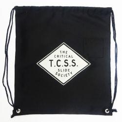 Reciclaje de promoción exterior de lienzo de algodón cordón mochila