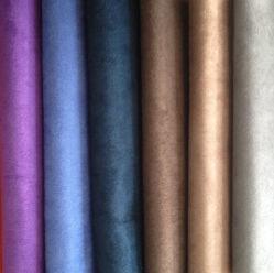 Micro Wildleder Stoff, besticktes Wildleder Stoff für Vorhang, Wildleder Stoff für Sofa