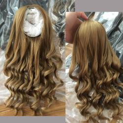 Sintético resistente al calor de la moda clásica muñeca cabello pelucas
