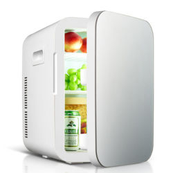 20L de refrigeración Dual Mini nevera Mini nevera Pantalla de LED