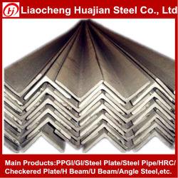 ASTM A276 Hrap 304 Acero Inoxidable el ángulo de hierro tamaños