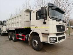 Shacman 6*4 Mechenical Motor Veículo de Carga e Transporte Caminhão Basculante