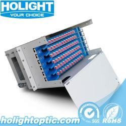 72 tipo scorrevole cassetto delle porte ODF per il cavo ottico della fibra
