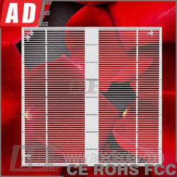 Commerce de gros mur vidéo LED en verre pour les boutiques de luxe Store mur transparent d'affichage LED