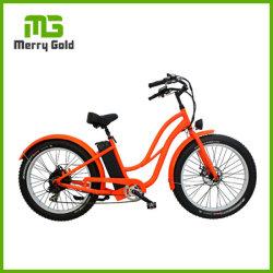 Muse 500W 48V Women City دراجة كهربائية مع ضوء أمامي والحقيبة الخلفية