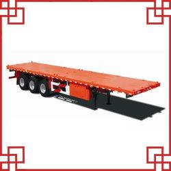40 pieds china pas cher à plat semi-remorque de camion de conteneurs SM-043