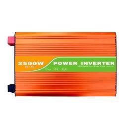 2500W Inversor de Energia Solar usada para luz de LED, TV, ventilador