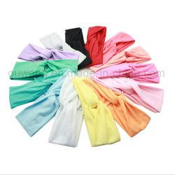 Item promocional impresso personalizados de alta qualidade de moda esticar a fita de algodão sólido de desporto