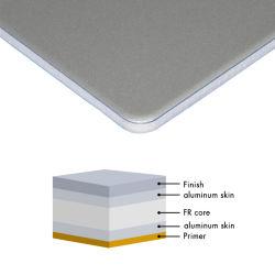 4mm PVDF revêtement plastique pliables Core matériau du panneau composite aluminium ACP
