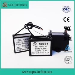Cbb61 일반 커패시터 금속 배선 필름 커패시터