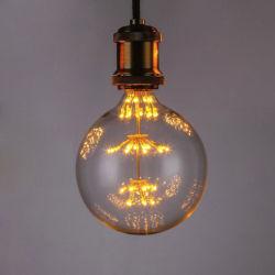 Custom 3W Edison Retro Ampoule de LED de lumière pour la décoration de Noël