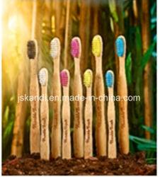 Milieuvriendelijke Bamboo-tandenborstel OEM-service voor volwassenen/kinderen en kinderen