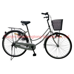 Stahl-Fahrrad der 26 Zoll-Dame-Cycle City Bike New