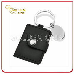 Hot Sale Promotional cuir synthétique Photoframe Key Ring